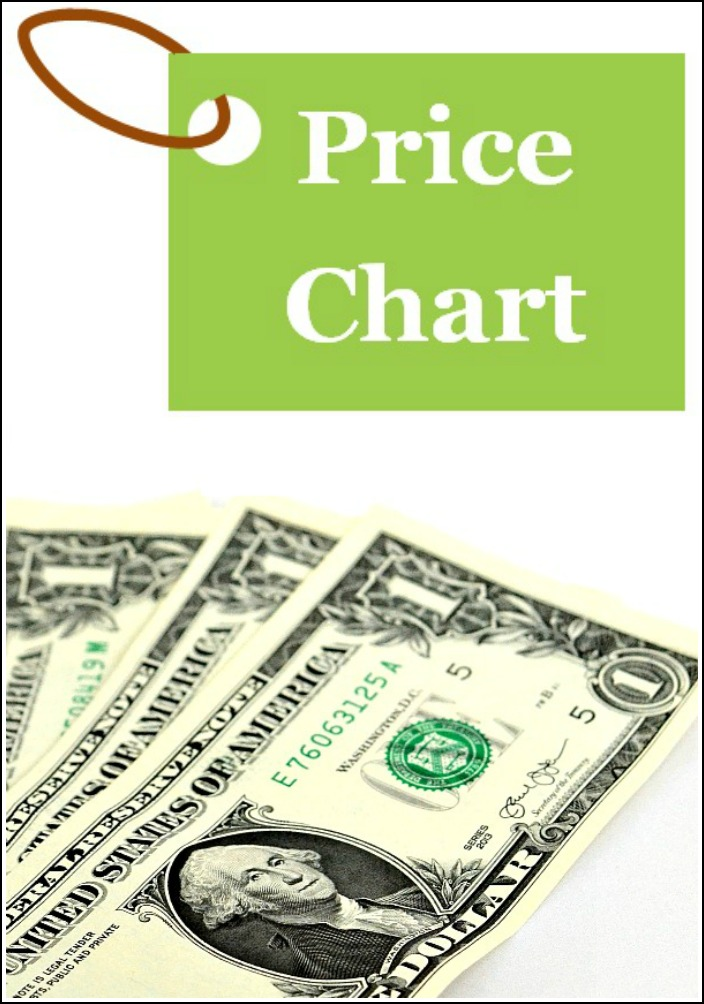 Having a price chart makes it so much easier to save money on groceries! You can keep track of the best prices on food items that you regularly buy, which makes it so much easier to stick to your food budget.