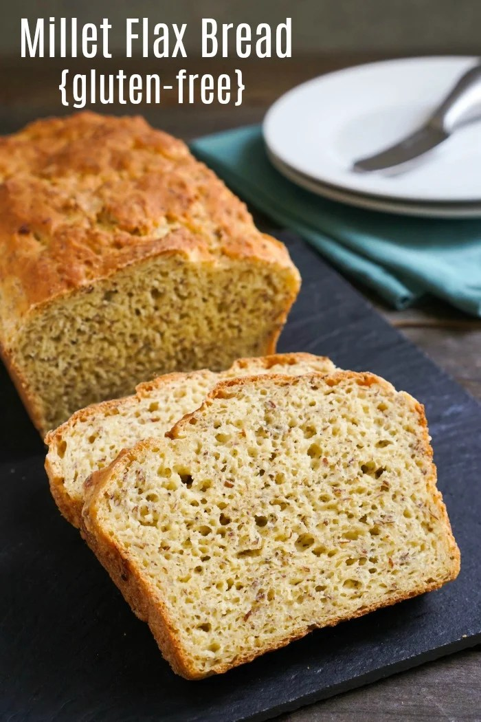 This millet flax bread recipe is a delicious, healthy homemade bread. It's an affordable alternative to store-bought gluten-free bread. Recipe from realfoodrealdeals.com