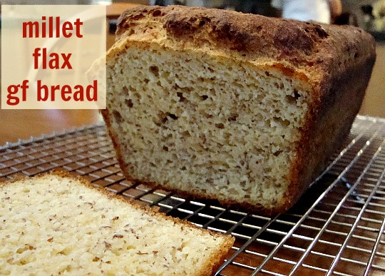 This millet flax gluten free bread recipe is a delicious, healthy homemade bread. It's an affordable alternative to store-bought gluten-free bread.