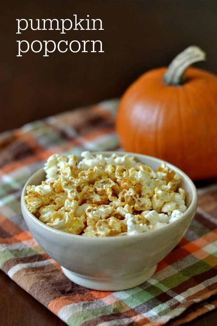 This pumpkin popcorn is a delicious, affordable whole grain snack that kids and adults will love. Roast this sweet treat for a unique fall snack.