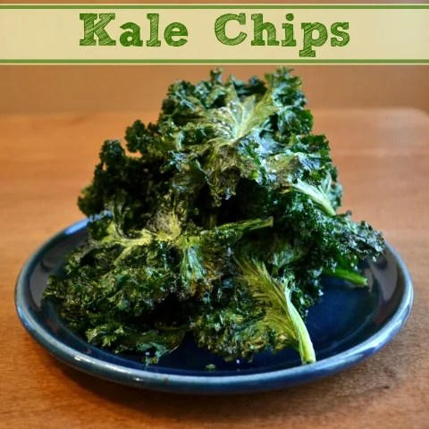 how to make healthy kale chips in the oven