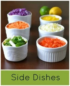 real food side dishes