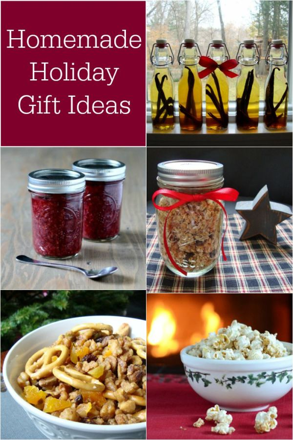 These five homemade holiday gift ideas will put a smile on anyone's face this holiday season!