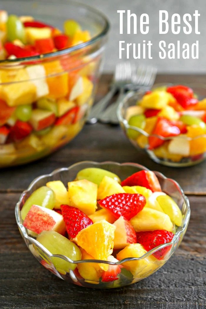 Pineapple Fruit Salad (Easy Vegan Side) - Real Food Real Deals
