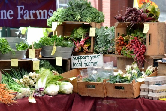 Farmers' Market in Burlington, Vermont