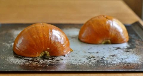 how to make pumpkin puree from carved pumpkin