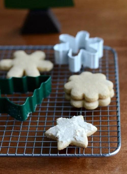 Have fun decorating the sugar cookies.