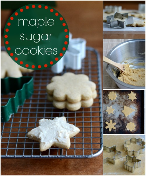This maple sugar cookie recipe is a great healthy alternative to the refined sugar version. Add these to your Christmas cookie swap.