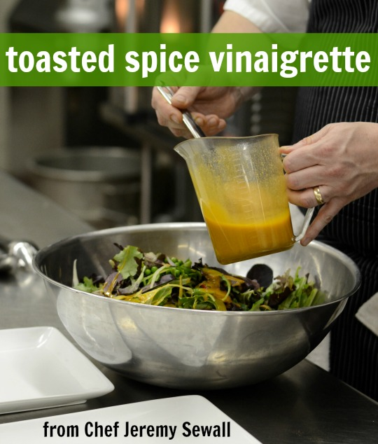 Healthy Recipes Cooking Tips: Healthy Cooking Tips, Toasted Spice Vinaigrette, And A