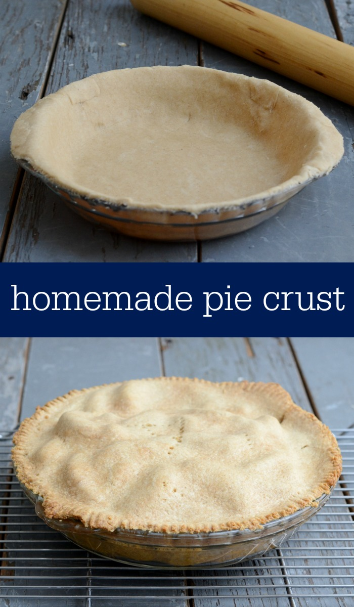 Store-bought pie crusts are full of junky ingredients. Make this easy homemade pie crust instead. Recipe from Real Food Real Deals.