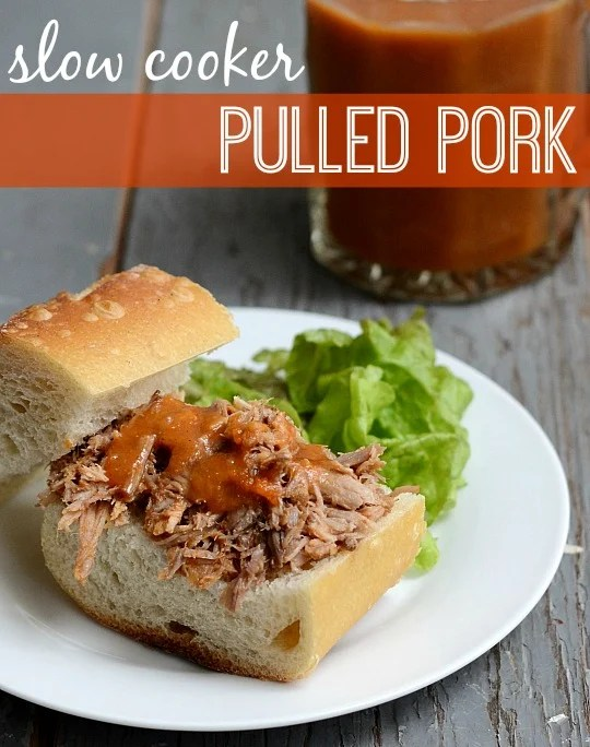 Slow cooker pulled pork: an easy, incredibly delicious dinner recipe for the Crock Pot.