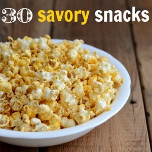 Savory Snack Recipes Without Added Sugar