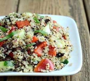 Mediterranean Quinoa Salad From Real Food Real Deals
