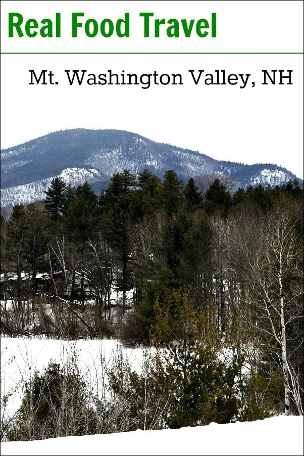 Mount Washington Valley, NH is the perfect place for a locavore vacation. There are so many healthy restaurants and markets that make for easy real food travel. And the skiing is amazing!
