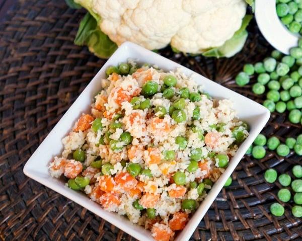 Vegan Cauliflower Fried Rice Recipe