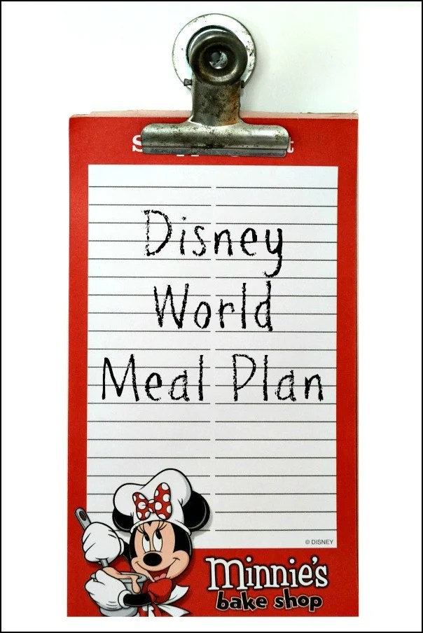 Our Disney World Meal Plan includes healthier restaurants at Disney World's hotels, as well as Magic Kingdom, Epcot, Animal Kingdom, and Hollywood Studios.