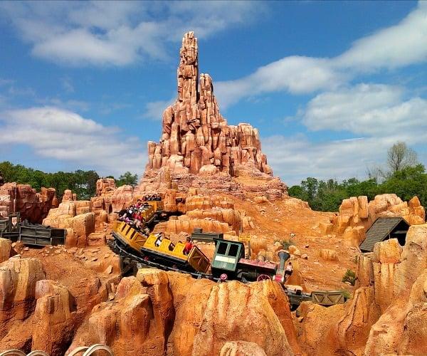 Disney World Meals Thunder Mountain