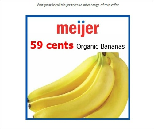Groupon Coupons at Meijer