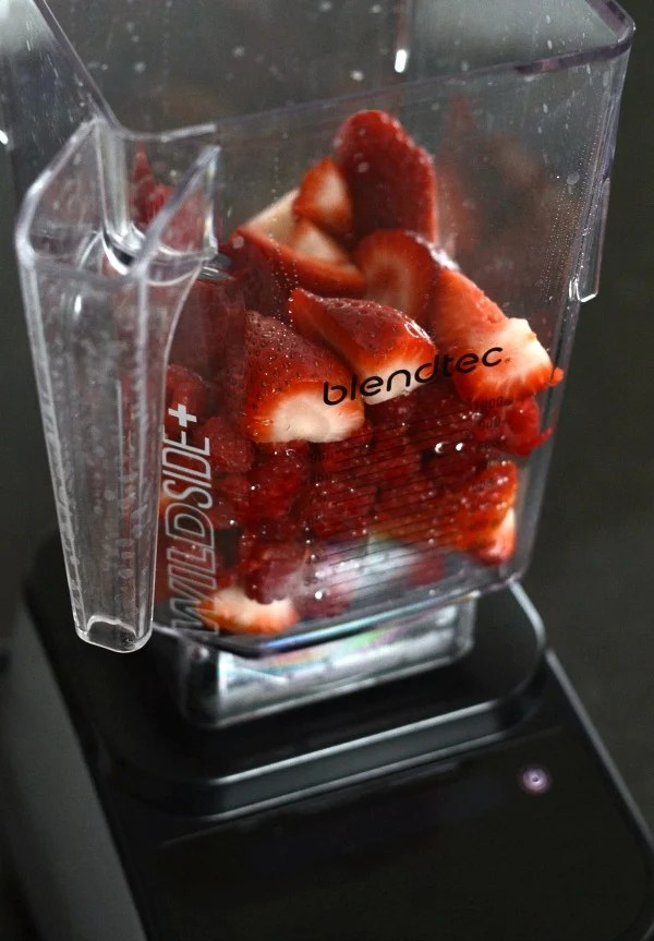 Blendtec with berries