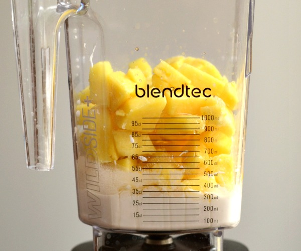 You can make a homemade Dole Whip right in your blender. Such a delicious recipe to remind you of Disney World!