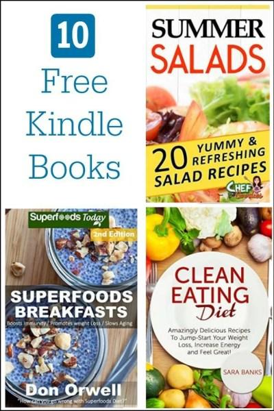 Free Kindle Cookbooks 6-12-15