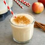 Apple smoothie vegan fall drink
