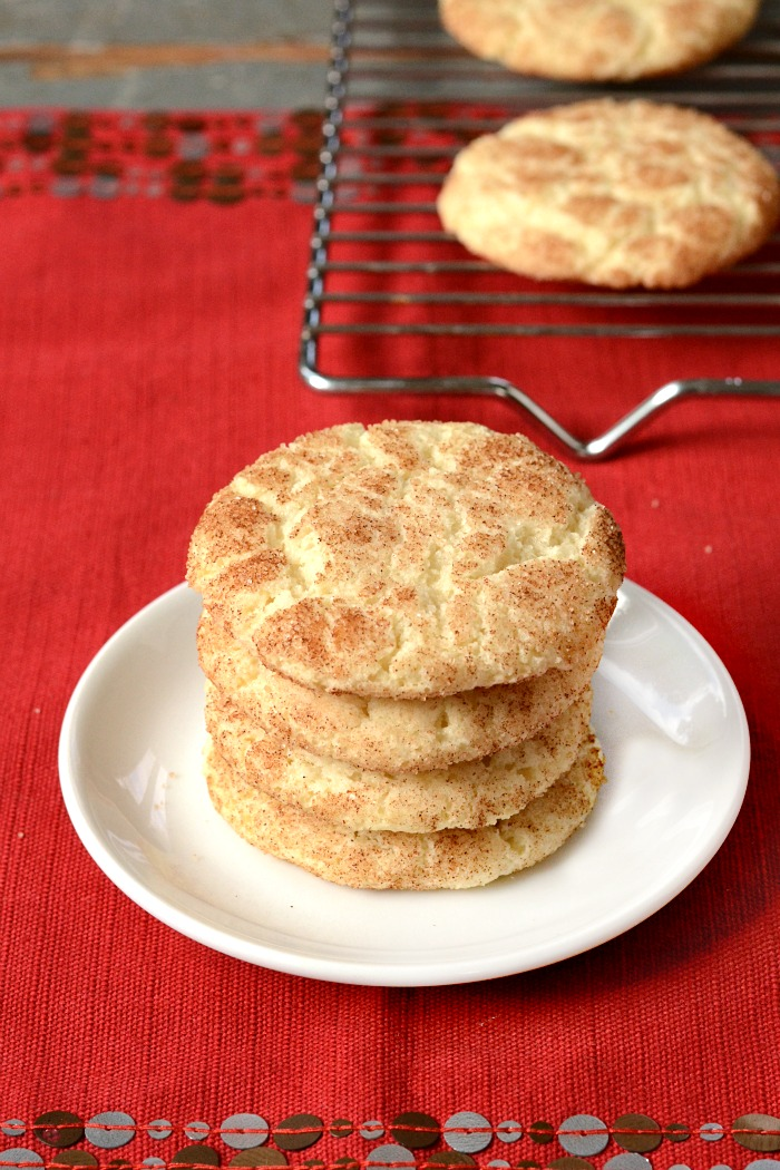 This easy snickerdoodle recipe is the perfect addition to your holiday baking agenda. Bring these cookies to a holiday party and they'll disappear quickly. Great for a cookie swap, too!