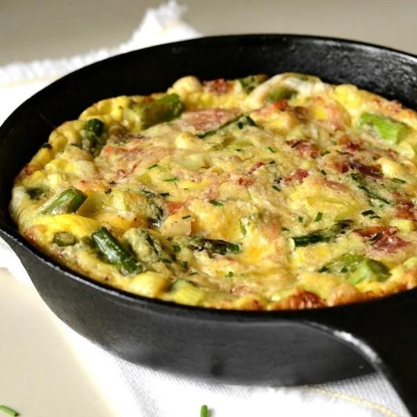 healthy-meals-asparagus-leek-frittata