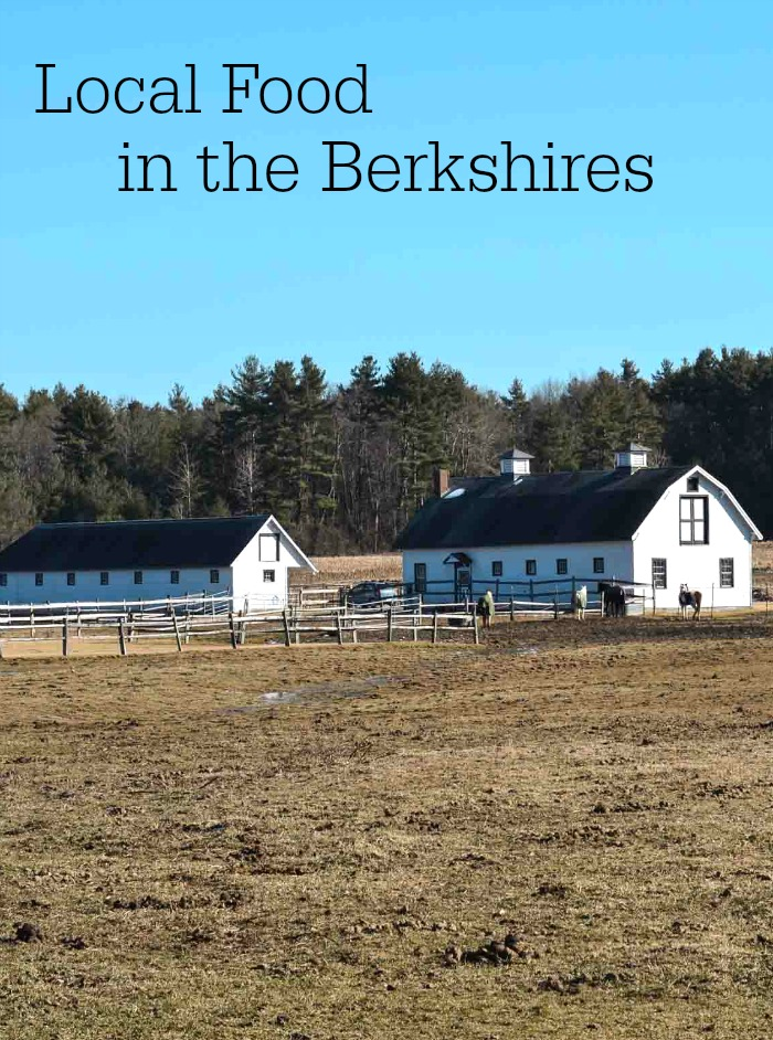 There's so much delicious local food in the Berkshires of Western Massachusetts. This is the perfect destination for healthy family travel!