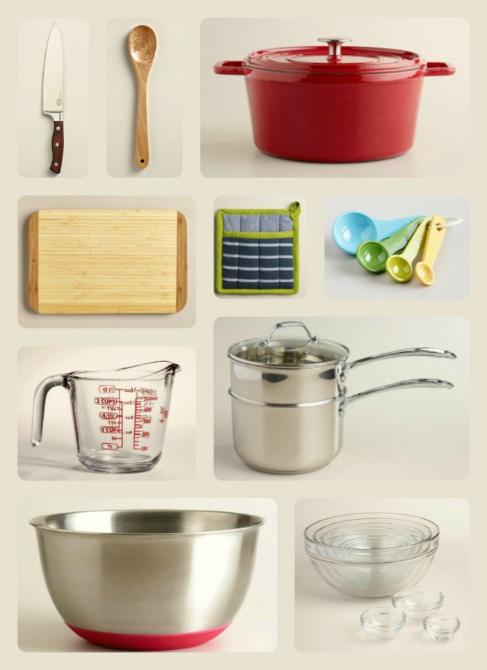 Kitchen Work Triangle Organization - Get your kitchen essentials organized by keeping these top ten items in the heart of your kitchen.