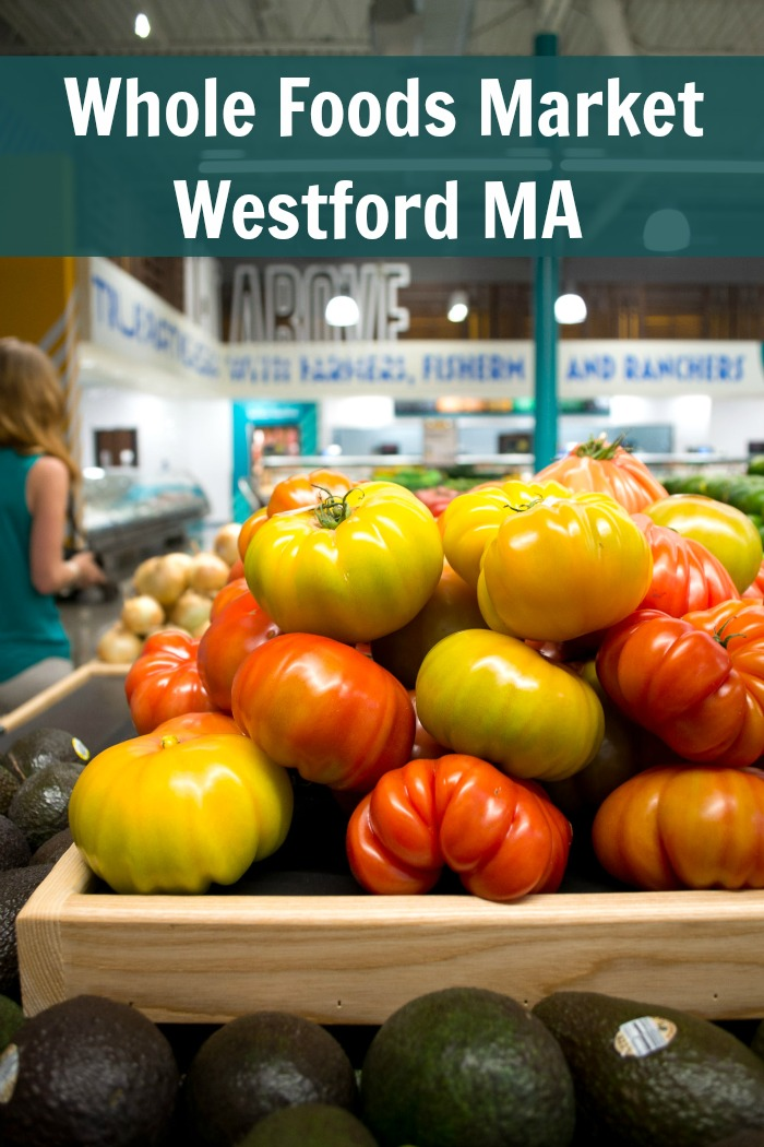 We're giving away a $50 Whole Foods Market gift card to celebrate the grand opening of its new store in Westford, Massachusetts. You won't believe all the special touches in this beautiful new store!