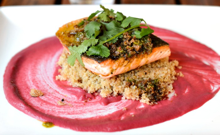 Sustainable fish is a specialty at the Tiburon Tavern.
