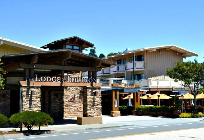 Beautiful California retreat: the Lodge at Tiburon