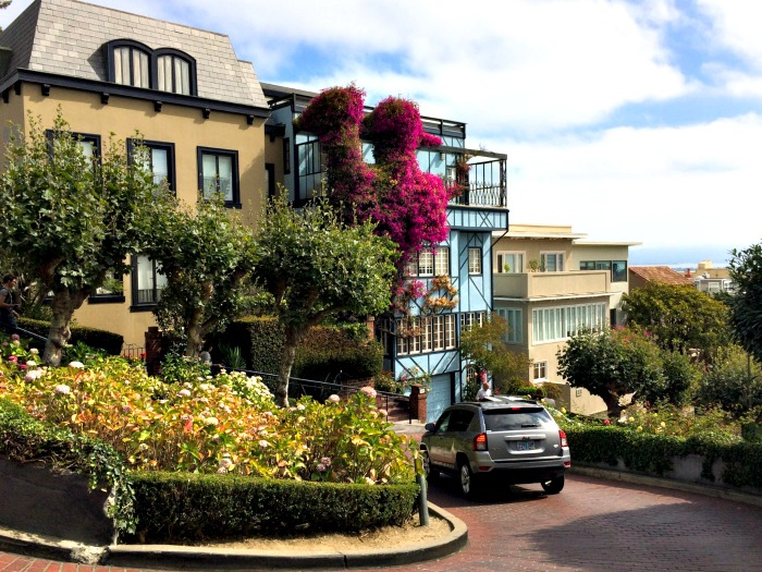 San Francisco's Lombard Street is a must-see landmark in this beautiful city!