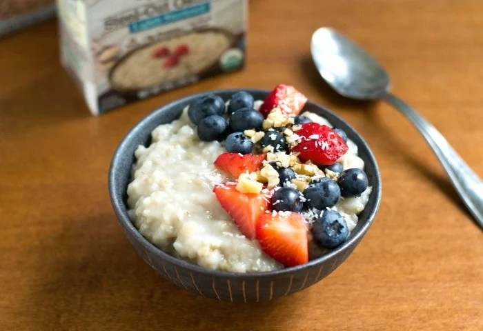 Pacific Foods steel cut oatmeal review
