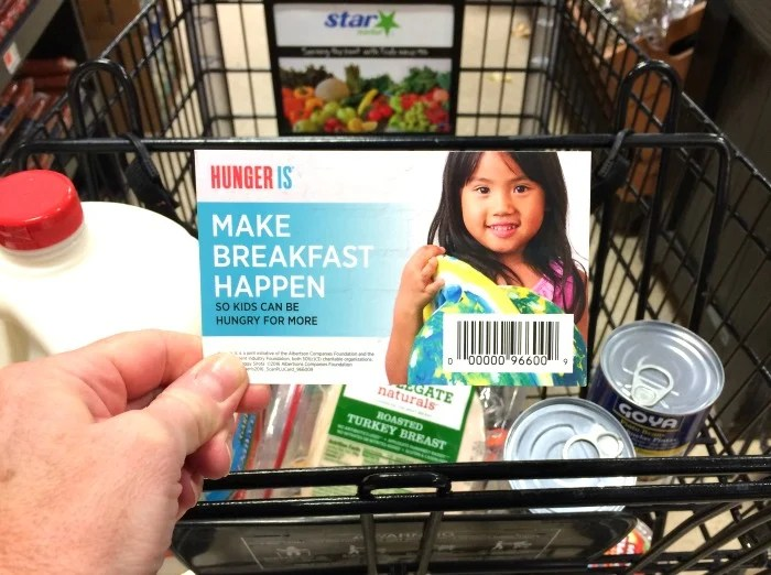 Make breakfast happen for every child, every day. Donate at Star Market during September 2016.