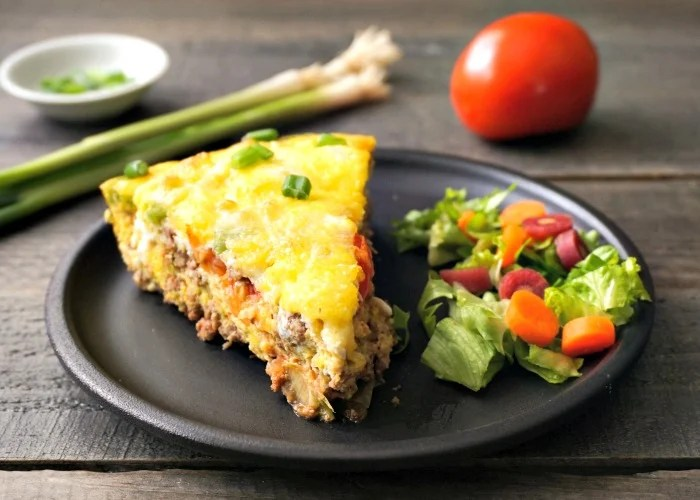 This Mexican frittata recipe is an easy, delicious meal. Try this gluten-free recipe for a healthy dinner or hearty breakfast.