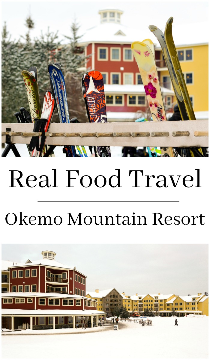 There's so much delicious local food at Okemo Mountain Resort in Ludlow, Vermont. It's a great destination for a family vacation.