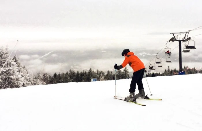 The skiing is fantastic at Okemo Mountain Resort in Ludlow, Vermont!