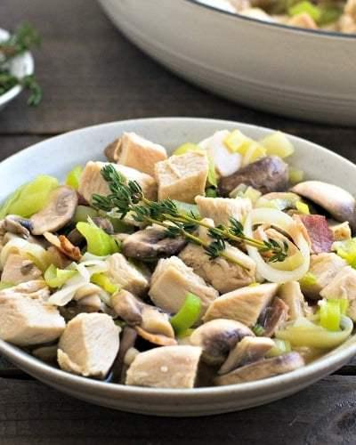 Chicken Mushroom Casserole