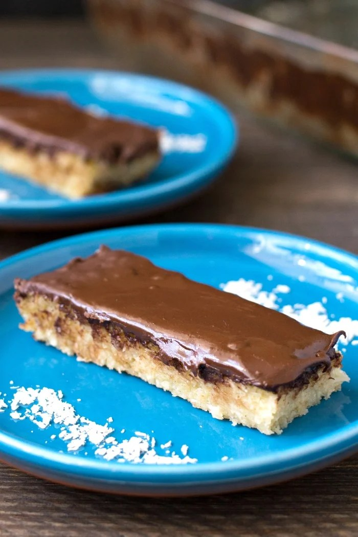 These homemade Mounds bars are a healthier dessert that will satisfy your sweet tooth. This gluten-free, dairy-free recipe tastes like the real thing!
