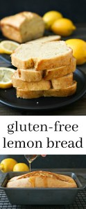 This gluten free lemon bread is bursting with delicious flavor. Try this easy recipe for a light, healthy snack.