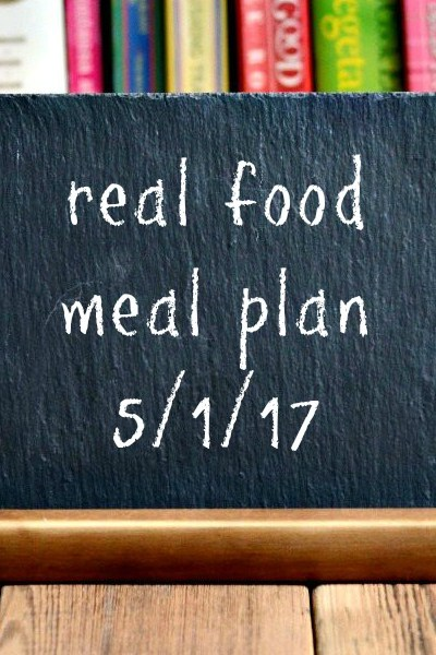 Real Food Meal Plan Week 159