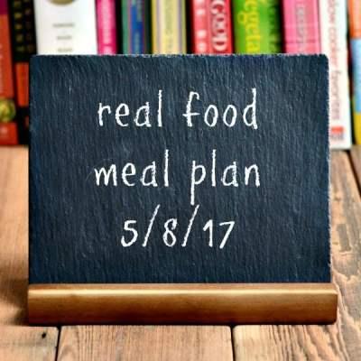 Real Food Meal Plan Week 160