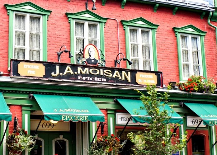 JA Moisan in Quebec City is one of the oldest grocery stores in North America.