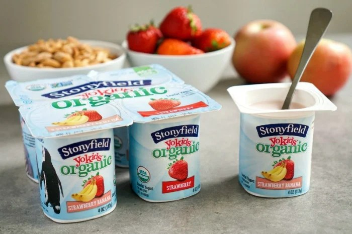 Stonyfield YoKids Organic yogurt has made a commitment to lowering its sugar content. Great step toward healthier children!