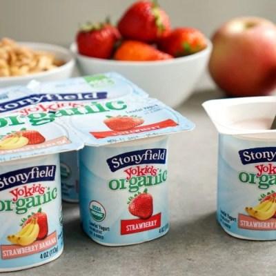 Stonyfield YoKids Yogurt Lower Sugar