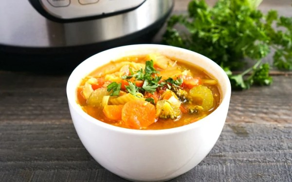 Instant Pot Detox Vegetable Soup Recipe
