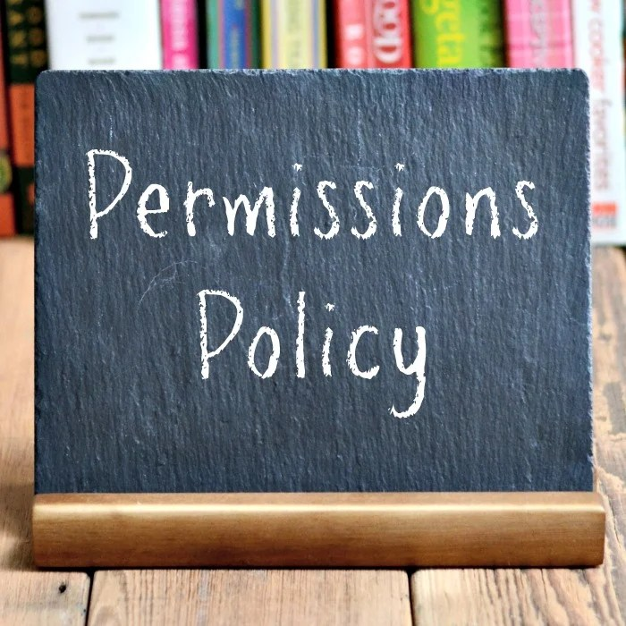 Real Food Real Deals Permissions Policy
