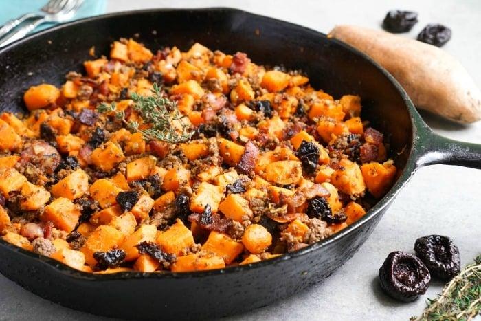 This sweet potato breakfast hash has the best flavor!